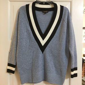 Deep V-Neck Nasty Gal Knit Sweater